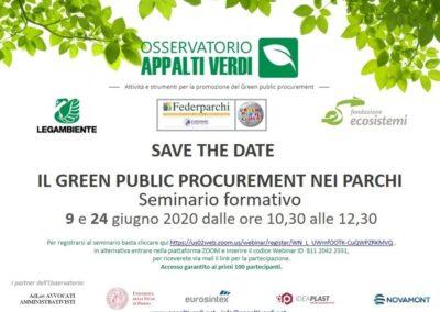 Formazione sul Green Public Procurement per gli Enti Parco