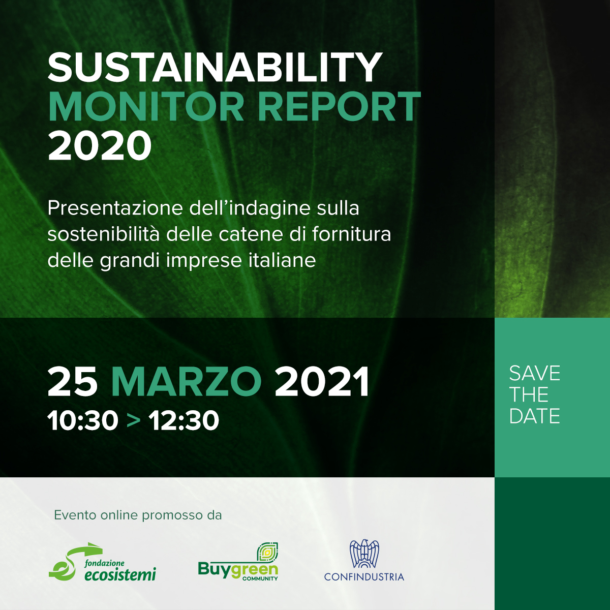 Sustainability Monitor Report 2020